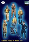 Masterbox Famous pilots of WWII Kit1.